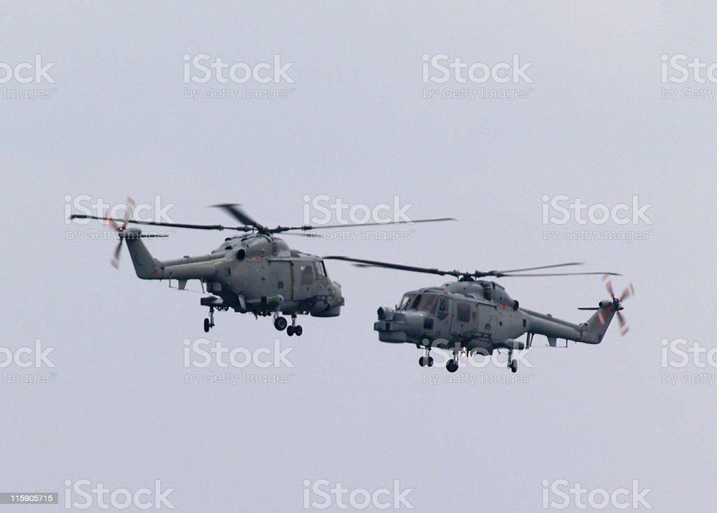 Lynx helicópteros muito - foto de acervo