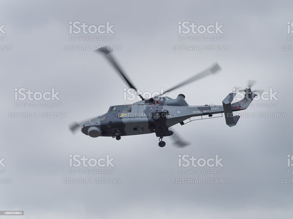 Lynx Mk 8 Helicopter stock photo