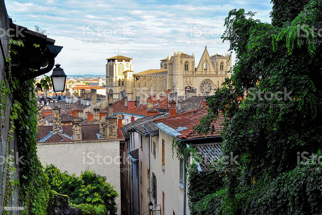Lyon, cathedral of Saint Jean - Photo