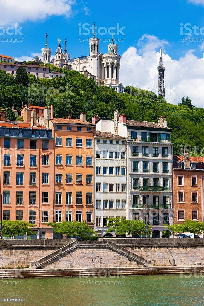 Lyon paysage de Rivière Saône - Photo