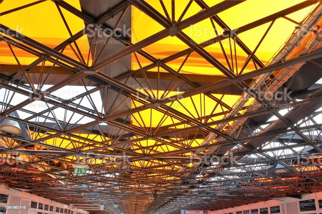 Lyon - Gare de Perrache Lyon - Gare de Perrache France Stock Photo
