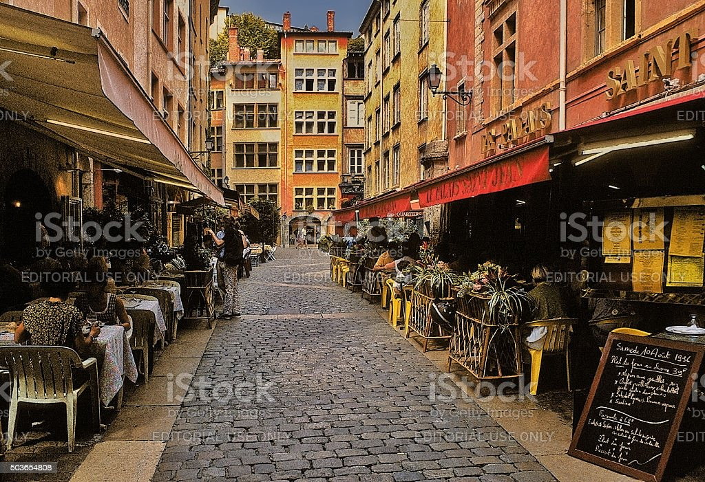 lyon stock photo