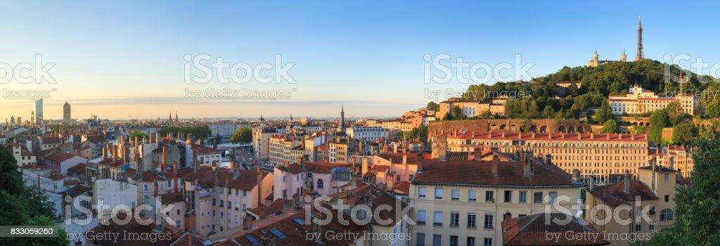 Lever du soleil de Lyon - Photo