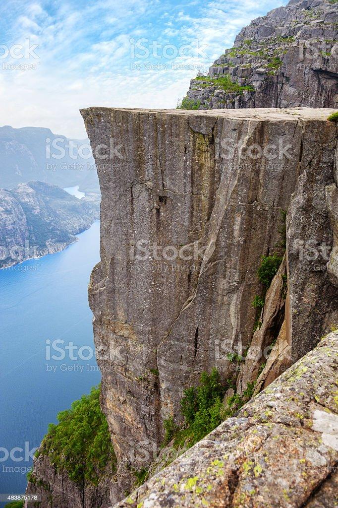 Lysefjord, Norway stock photo