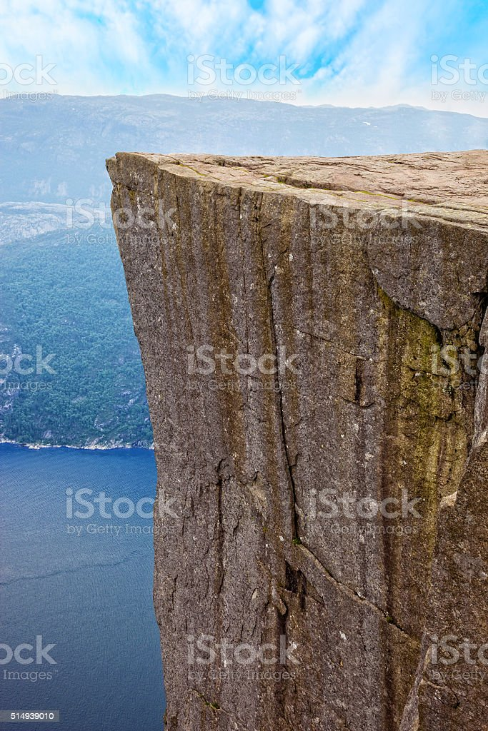 Lysefjord, Norway stock photo