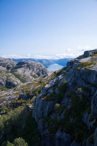 Lysefjord, Rogaland, Norwegen – Foto