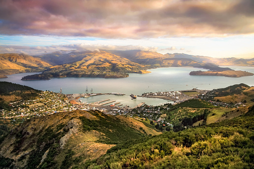 Lyttelton Harbour Christchurch New Zealand