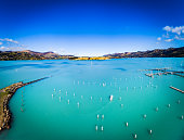 Lyttelton Harbour / Whakaraupō is one of two major inlets in Banks Peninsula, on the coast of Canterbury, New Zealand; the other is Akaroa Harbour