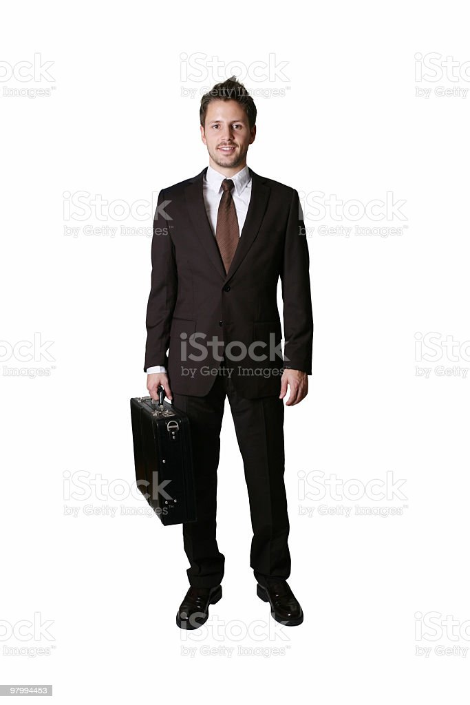 I'm a businessman royalty-free stock photo