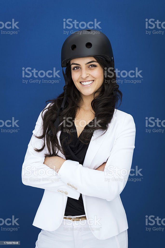 I'm a fighter! stock photo