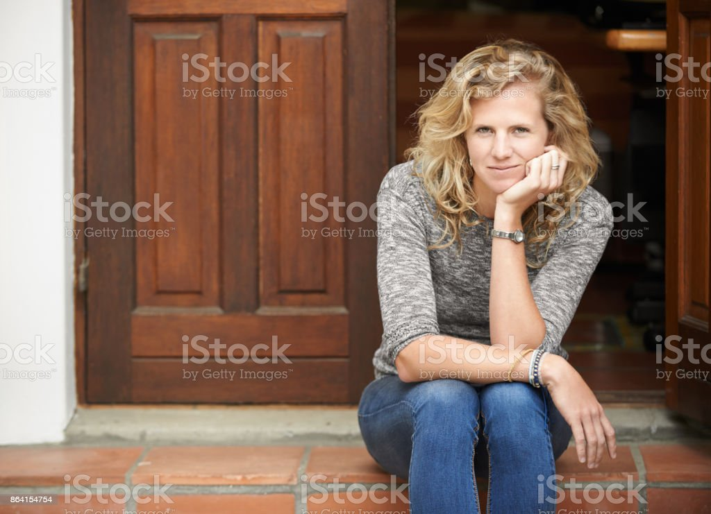 I'm all about that chilled life royalty-free stock photo