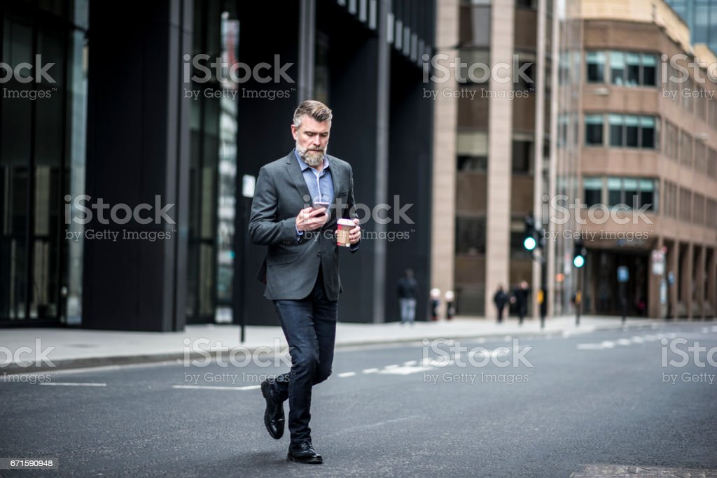 I'm almost there! stock photo