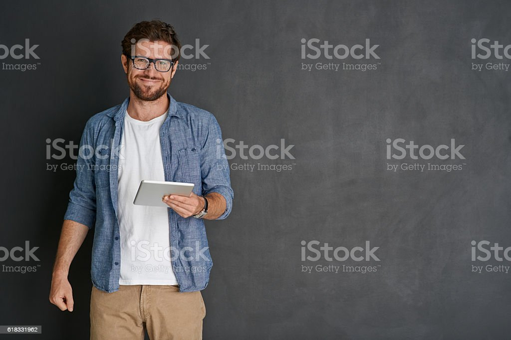 I'm always connected stock photo