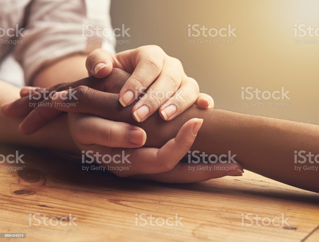 I'm always here for you stock photo