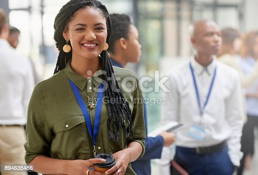 682363912istockphoto I'm always standing buy for that next great opportunity 894635486