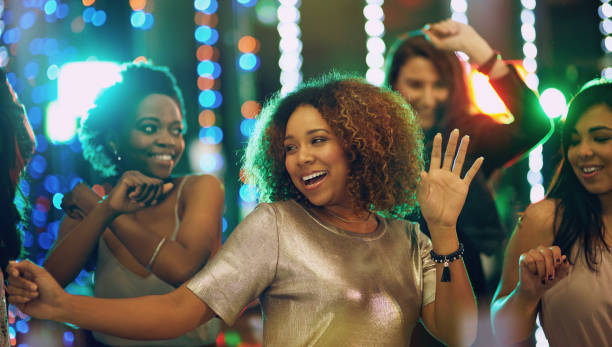 i'm always up for a party - dance floor stock photos and pictures