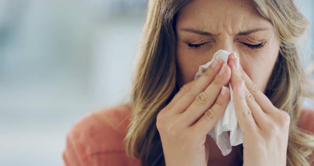 ich bin heute so krank wie ein welpe - erkältung und grippe stock-fotos und bilder