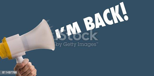 istock I'm Back 811497768