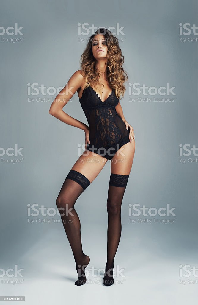 I'm bringing sexy back stock photo