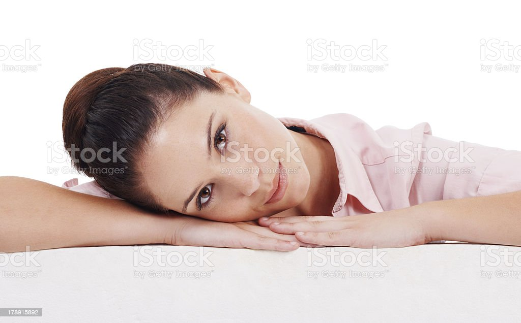 I'm comfortable with this idea royalty-free stock photo