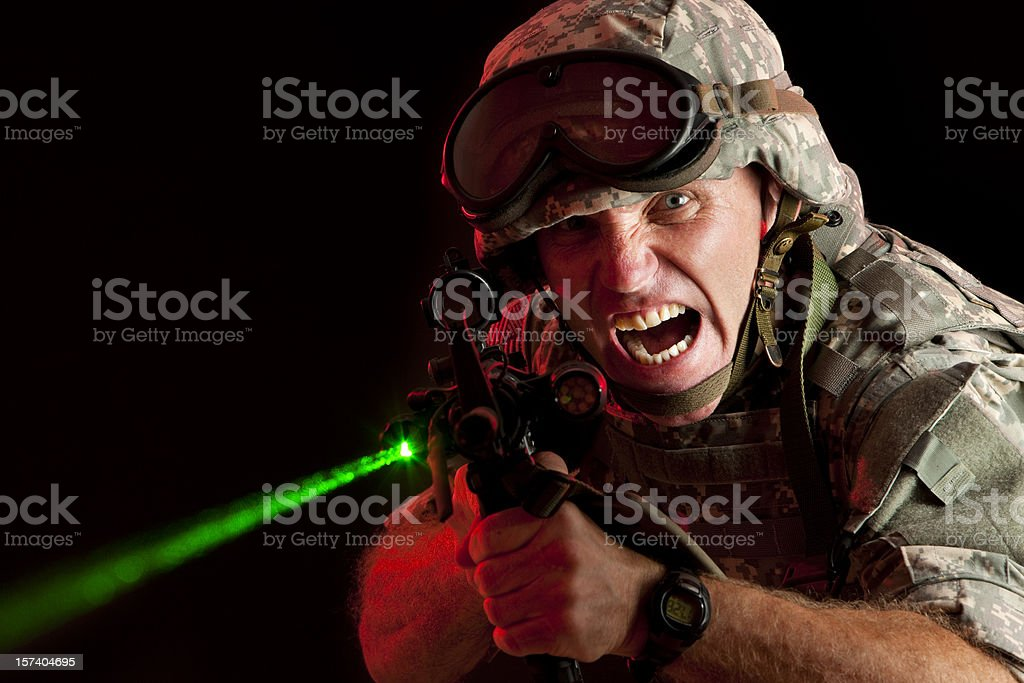 I'm Coming to Get You! royalty-free stock photo