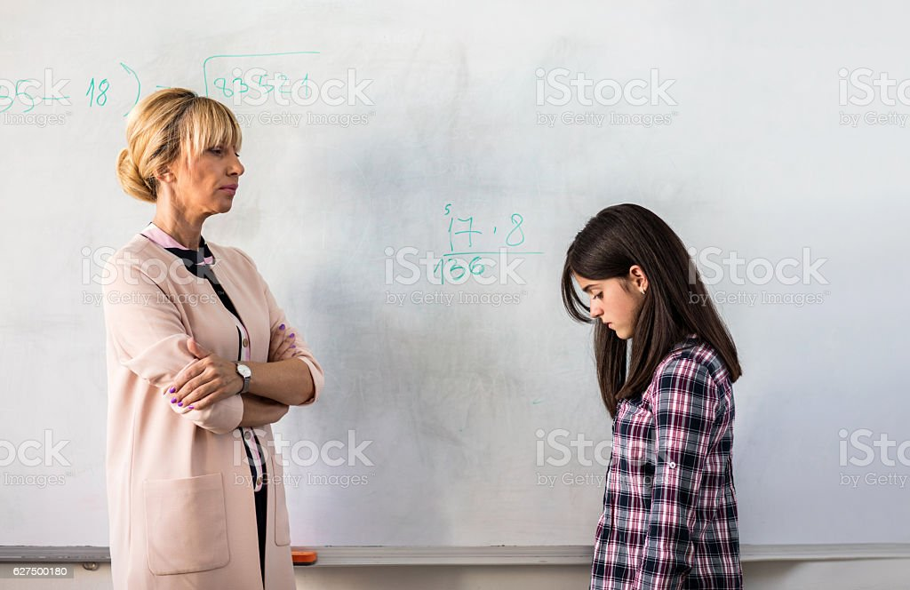 I'm disappointed you don't know the answer! stock photo
