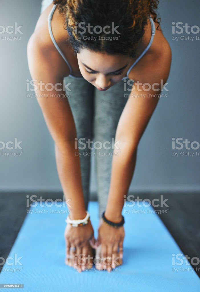 I'm down for whatever brings me peace stock photo