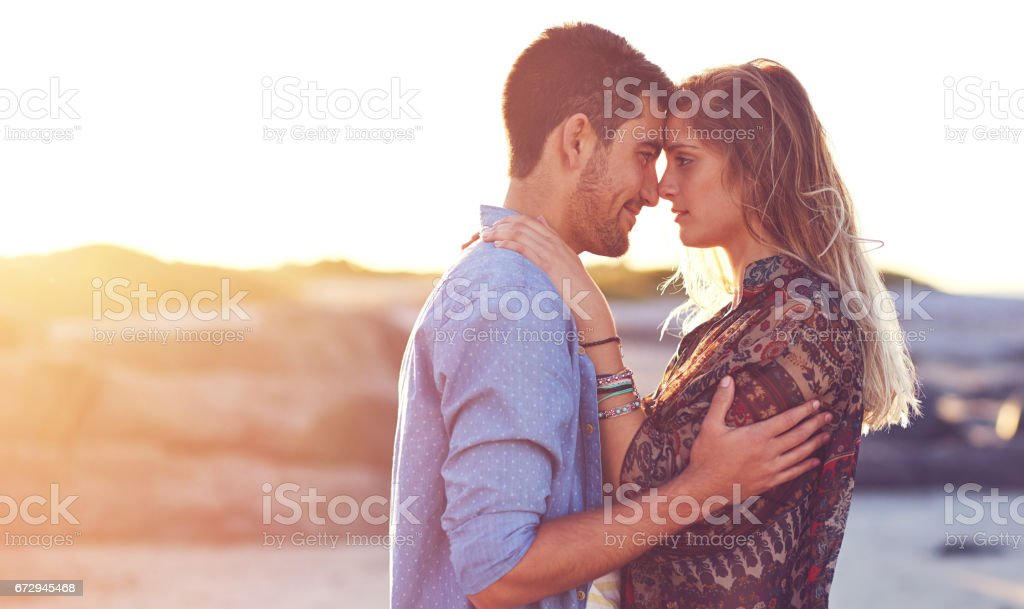 I'm falling for you in a big way stock photo