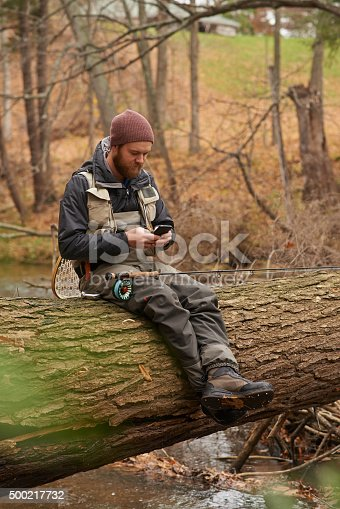 992209122 istock photo I'm fishing at my usual spot, care to join me? 500217732