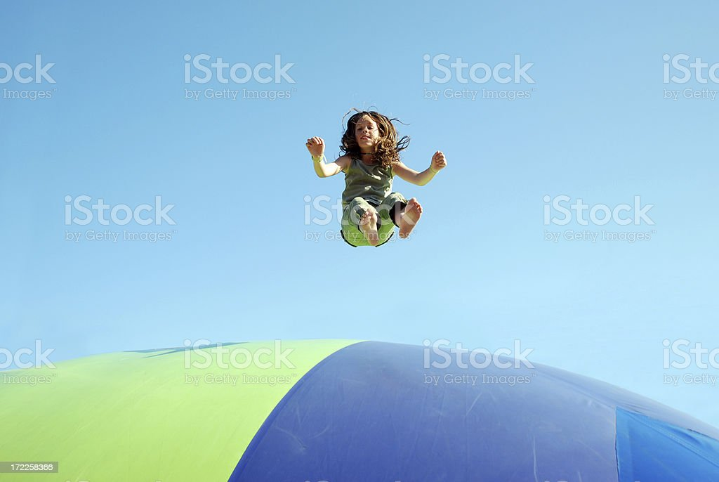 I'm flying! royalty-free stock photo
