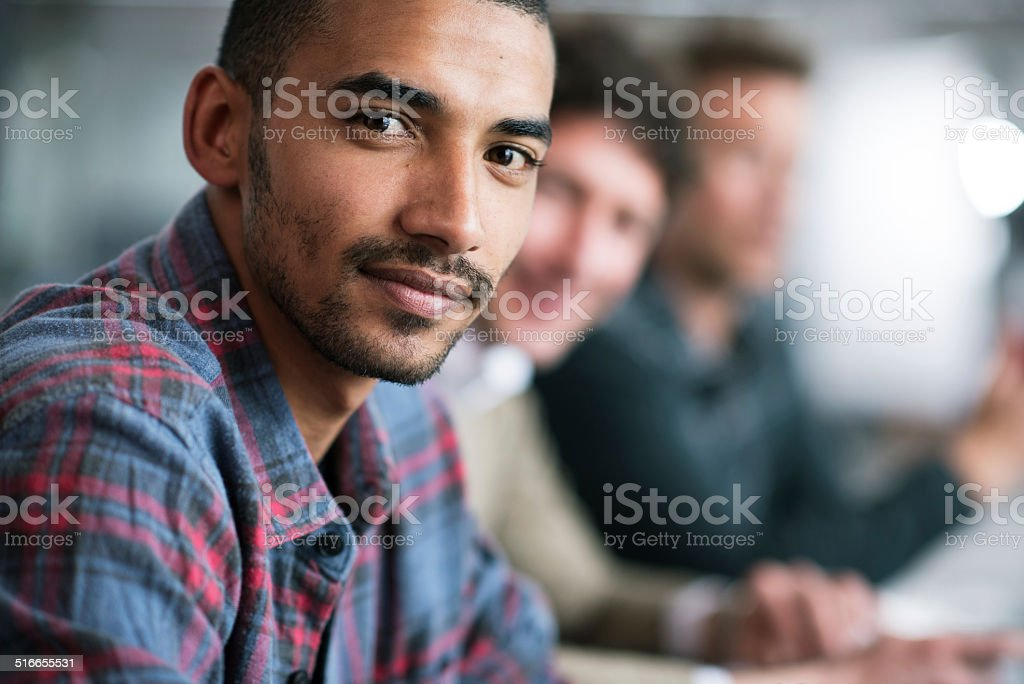 I'm focused on achieving my best stock photo