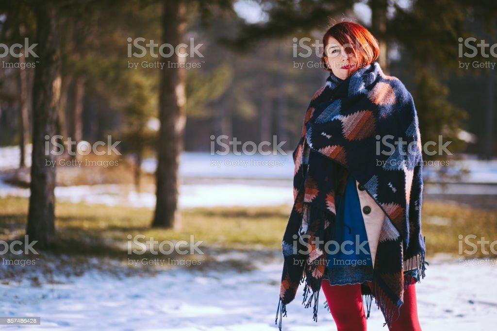 I'm Frozen stock photo