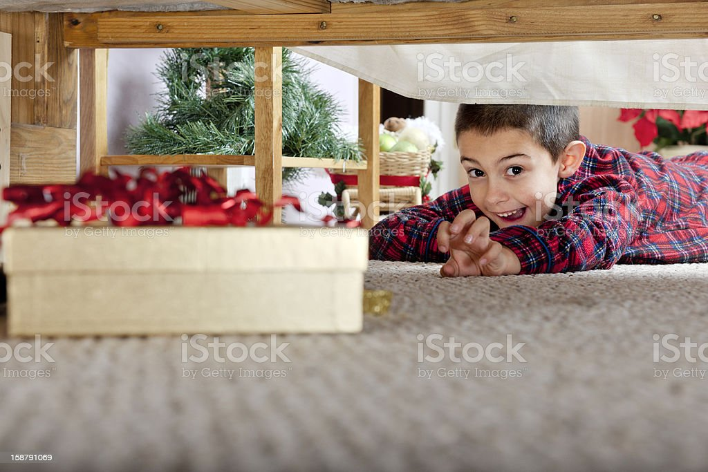 I'm Getting It! royalty-free stock photo
