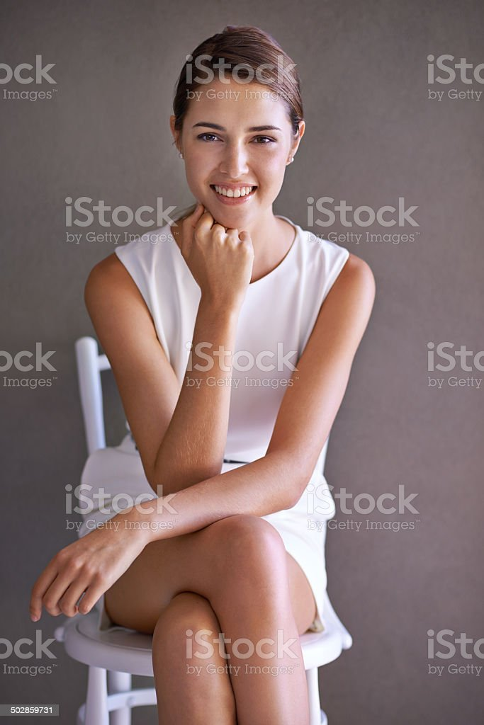 I'm getting that job today stock photo