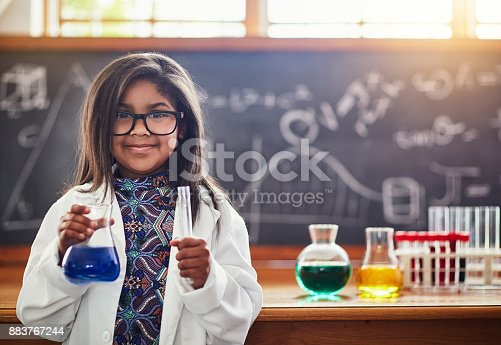 istock I'm going to be the best scientist ever! 883767244