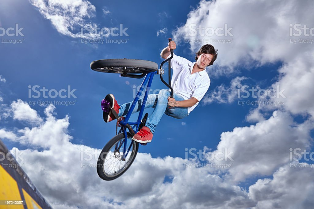 I'm gonna do a tailwhip on the next one stock photo