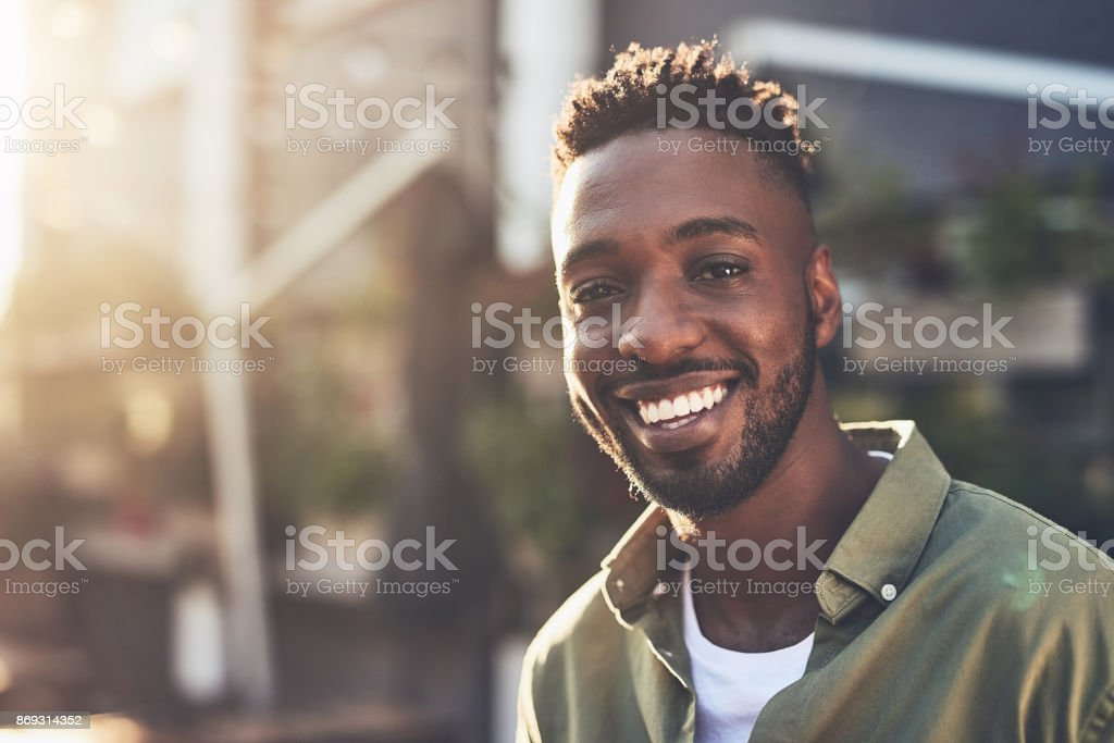 I'm happy for so many reasons stock photo