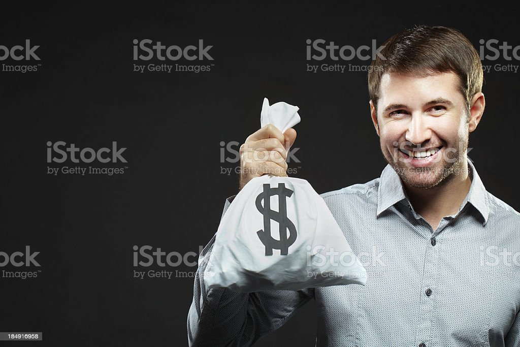 I'm happy stock photo