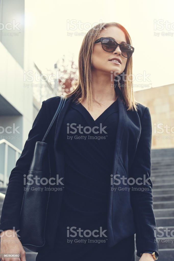 I'm here for the success stock photo