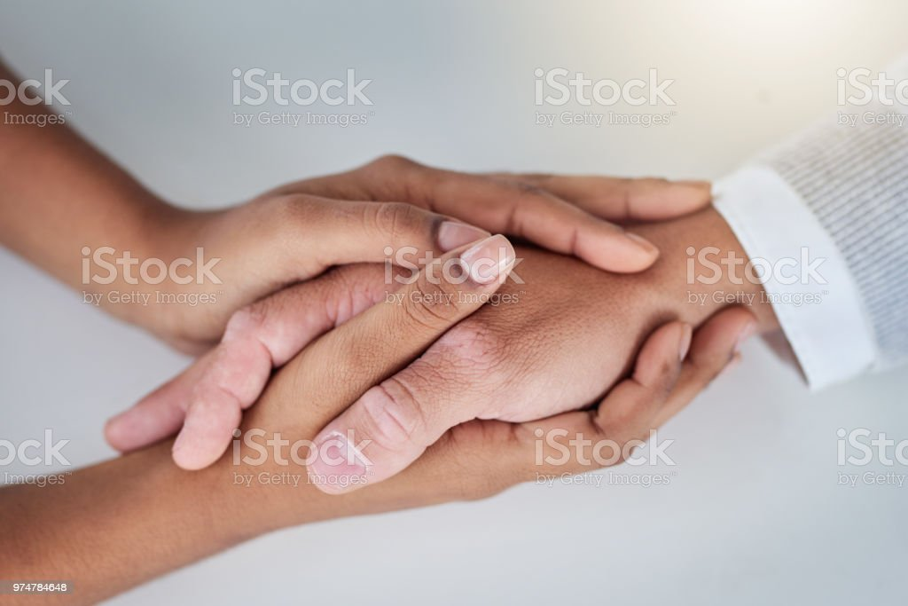 I'm here for you if you need a hand stock photo