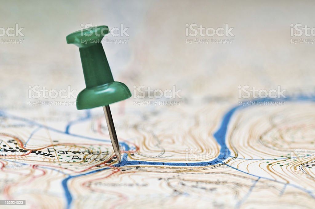 I'm here royalty-free stock photo