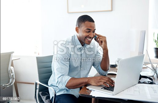 936117940 istock photo I'm just calling to give you an update... 691781952