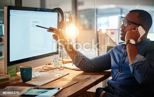 936117940 istock photo I'm just reviewing the minutes of the meeting 964894476