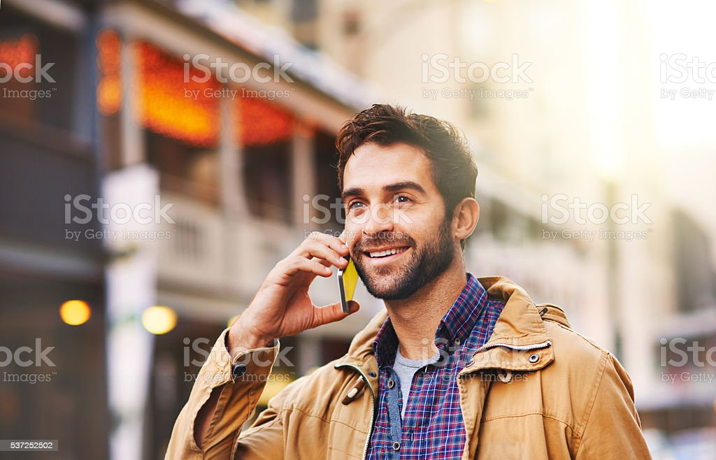 I'm just waiting for my taxi stock photo