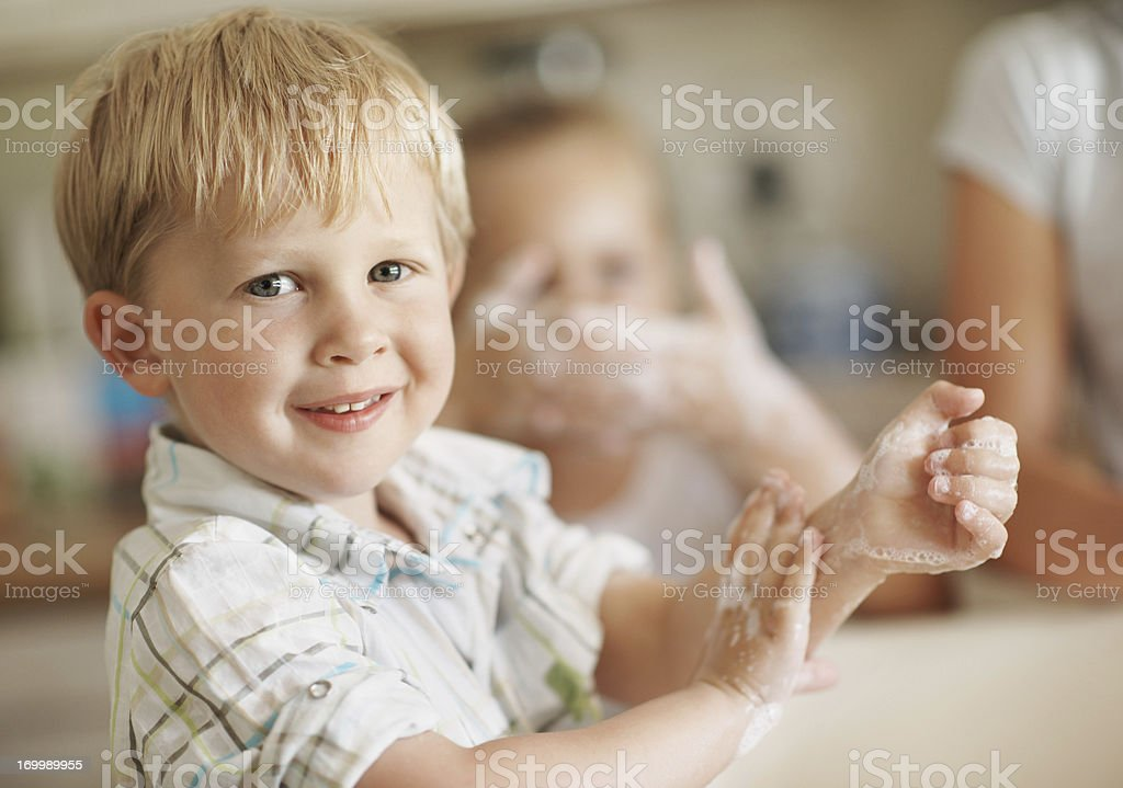 I'm learning some great habits stock photo