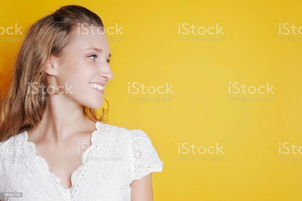 I'm looking at room for copy royalty-free stock photo