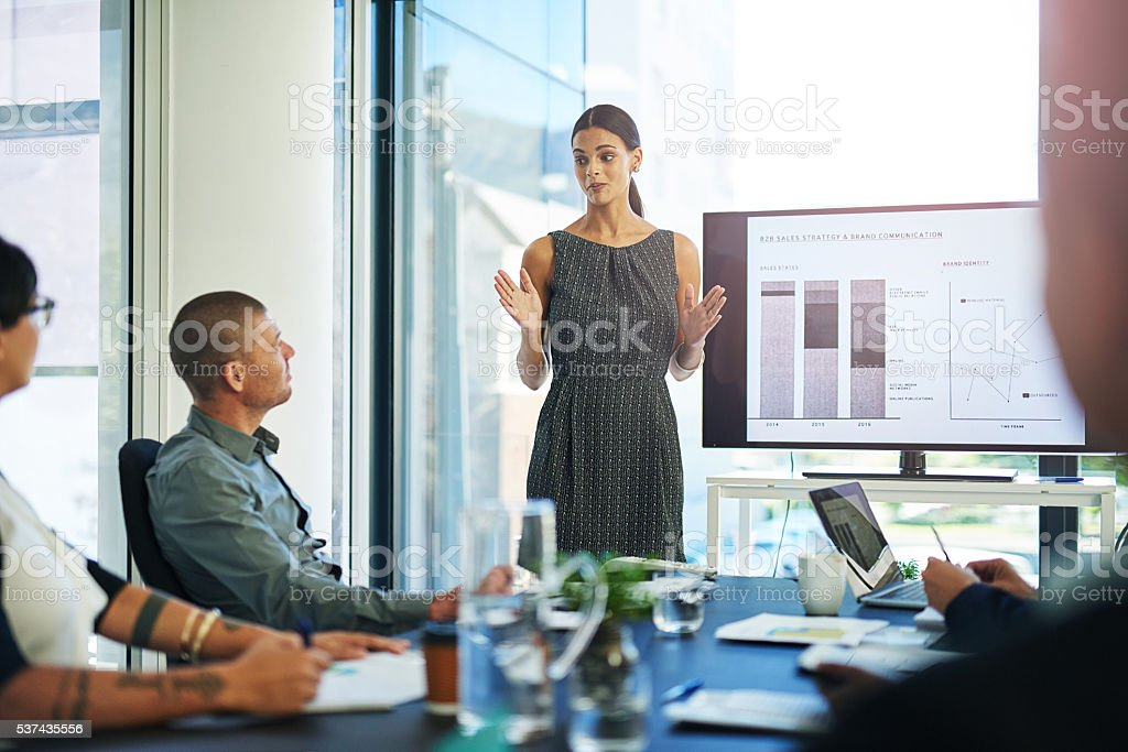 I'm looking at the big picture stock photo