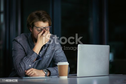 istock I'm losing my patience with these late nights 1146064226