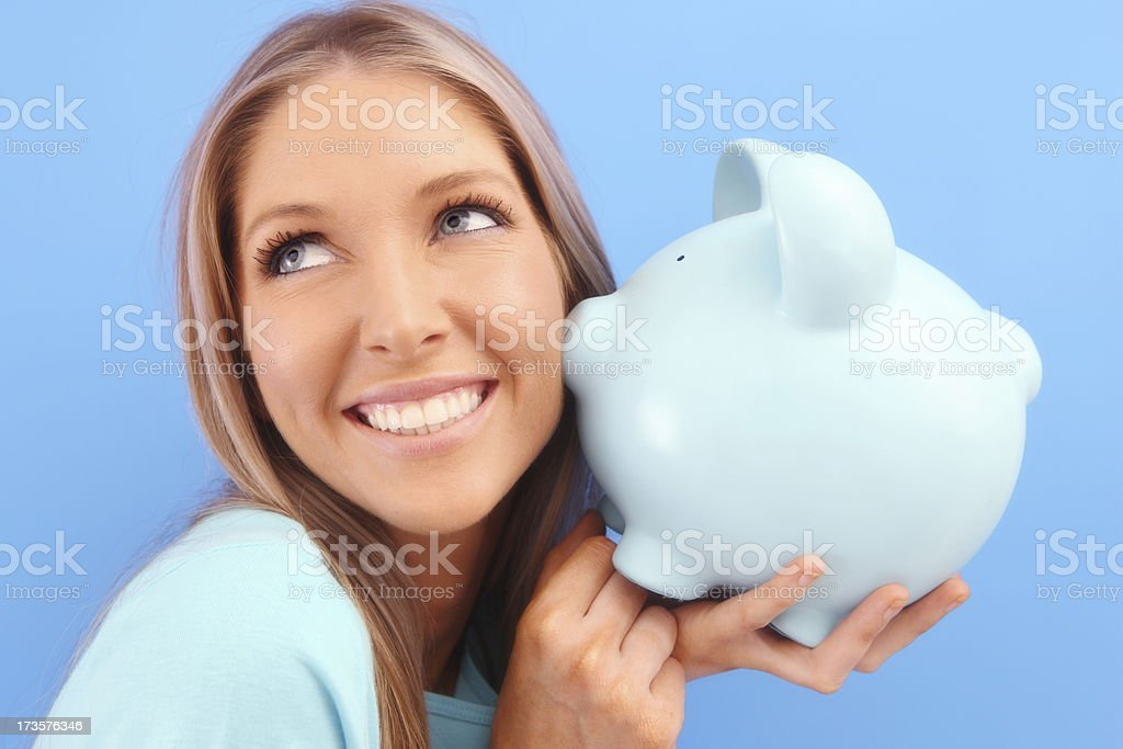 I'm Lucky in Money royalty-free stock photo
