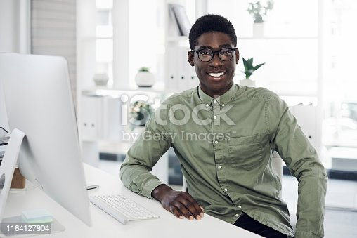 istock I'm making a name for myself in the industry 1164127904